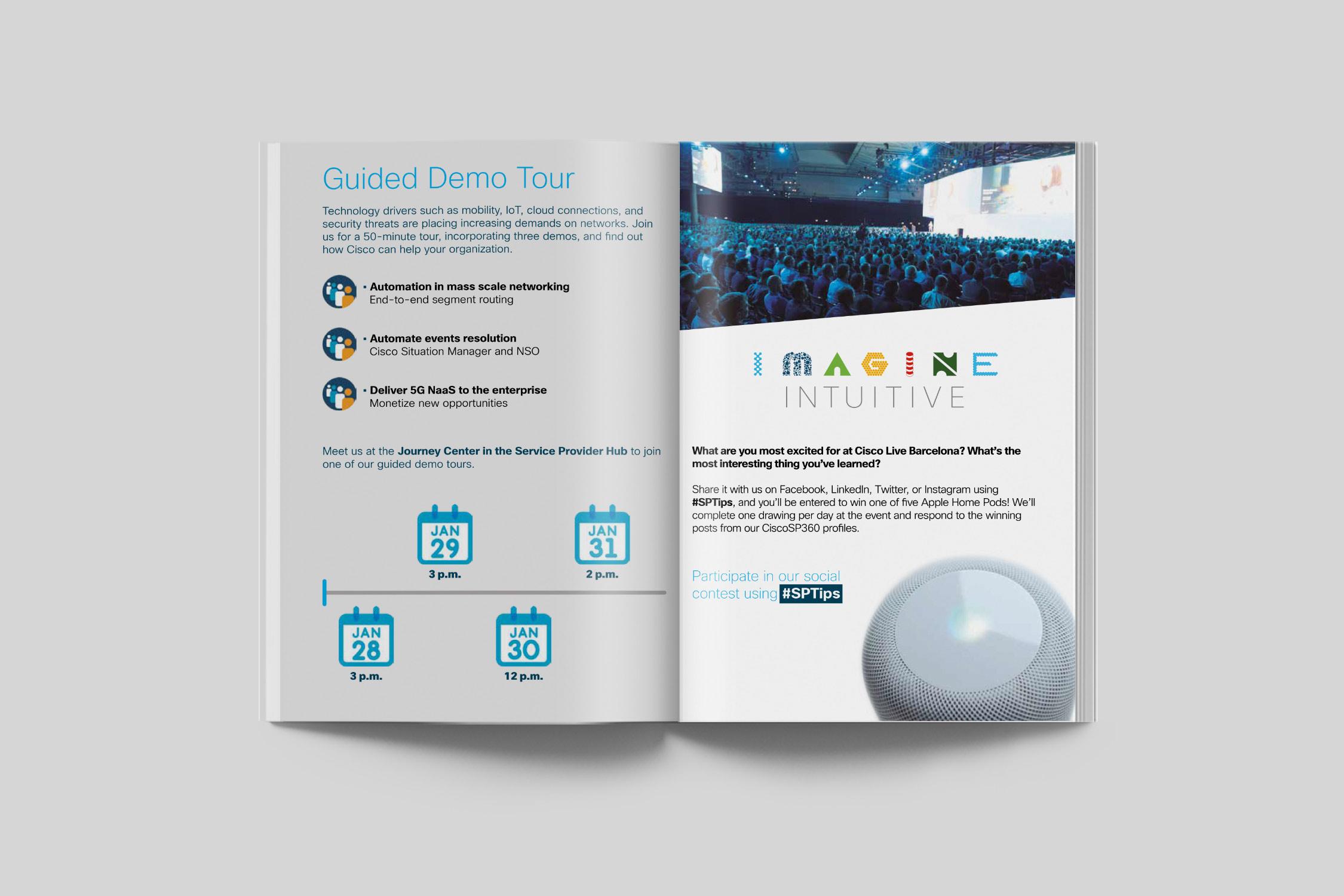 Agenda Cisco Live Barcelona 2019